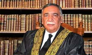 Campaign initiated to malign judiciary, says CJP Khosa on eve of retirement