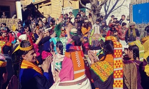 In pictures: Kalasha community bids farewell to 2019 with 15-day-long Chaumos festival
