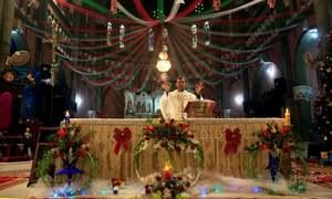 پاکستان سمیت دنیا بھر میں کرسمس کا جشن