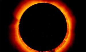 'Ring of Fire' solar eclipse to darken skies today