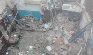 سکھر: مکان کی چھت گرنے سے 3 بچے جاں بحق