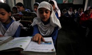 Half of students enrolled under voucher scheme in KP quit education