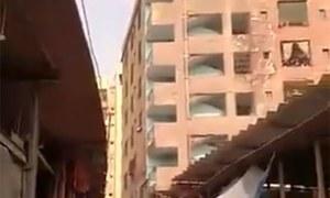 کراچی میں 6منزلہ عمارت زمین بوس