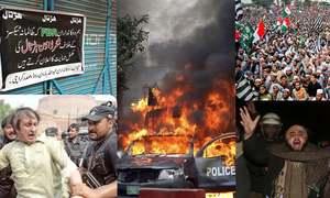 سال 2019: جمہوریت کا حسن 'احتجاج، مظاہرے اور دھرنے'