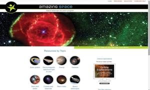 Website review: Diving into space