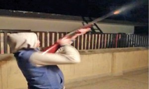Twin cities ring in a new year with illegal celebratory firing, fireworks