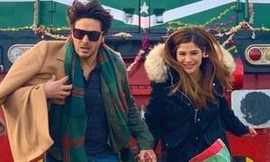 Ahsan Khan and Ayesha Omar resume shooting Rehbara after 2 year hiatus