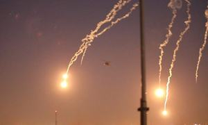 Missiles hit Green Zone and Iraq base housing US troops: security sources