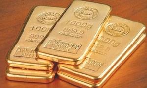 سونے کی قیمت 90 ہزار 8 سو روپے فی تولہ کی ریکارڈ سطح پر پہنچ گئی