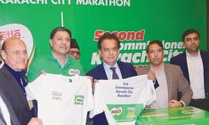 All set for Commissioner Karachi City Marathon on 12th