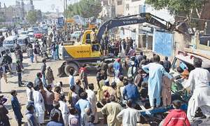 Big anti-encroachment operations carried out in Hyderabad, Jacobabad