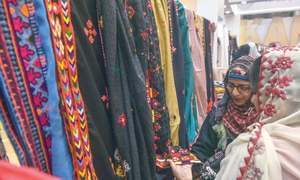 Sindh's rich colours on display at craft exhibition