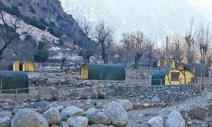'Bumburate camping pod site vulnerable to floods'