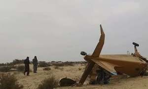2 killed as aircraft spraying pesticide for locusts crashes in Cholistan