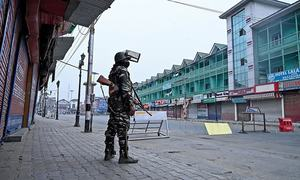 Decorated Indian officer arrested over ties to Kashmiri fighters