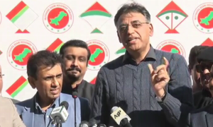 MQM-P's Siddiqui downplays resignation announcement, says party will remain govt's ally