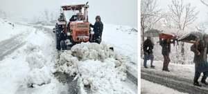 Six injured as heavy rain, snowfall lash KP