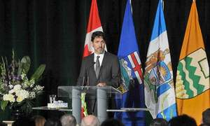 Trudeau cites US ratcheting up tensions with Iran in plane's downing