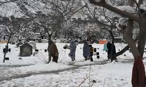 ملک بھر میں شدید بارشوں، برفباری کے باعث اموات کی تعداد 82 ہوگئی