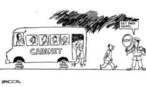 Cartoon: 16 January, 2020