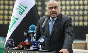Outgoing Iraqi PM says US troop ouster up to next government