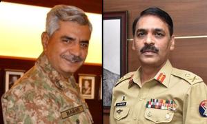 میجر جنرل آصف غفور کا تبادلہ، بابر افتخار نئے ڈی جی آئی ایس پی آر تعینات