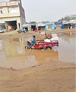 Bumpy road riles residents of Zafarwal, Shakargarh