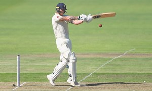 Stokes, Pope steer England to 224-4 on first day