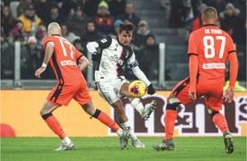 Dybala double helps Juve beat Udinese in Coppa Italia