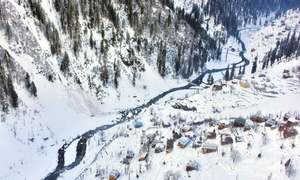 Avalanche in AJK pushes death toll to 77