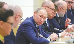 Parliament backs Putin's pick for PM after 'January Revolution'
