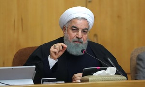 Rouhani says 'no limit' to nuclear enrichment