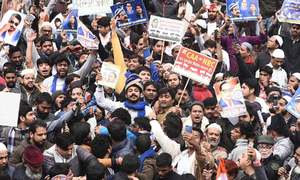 Thousands turn up at New Delhi protest against citizenship law