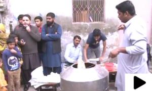 لاہور کے شہریوں نے گیس کی عدم فراہمی کا حل نکال لیا