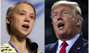 Davos chief welcomes views of Trump, Greta Thunberg at forum
