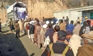 People rush to get subsidised wheat flour