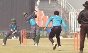 Wasim stars as Pakistan blow away Scots