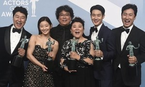 Foreign film Parasite bags top prize at SAG Awards 2020