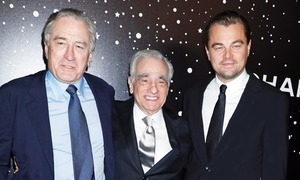 Leonardo DiCaprio and Robert De Niro will star in Martin Scorsese's next film