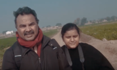 This father-daughter duo is journeying through Punjab's heartland on a motorcycle