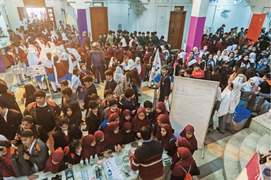 CLF attracts hundreds on first day