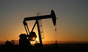 International restrictions blamed for lower oil production