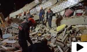 ترکی میں 6.8 شدت کا زلزلہ، 20 افراد جاں بحق