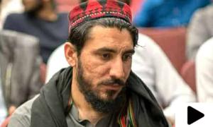 پشتون تحفظ موومنٹ کے سربراہ منظور پشتین پشاور سے گرفتار