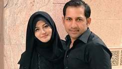 Sarfaraz Ahmed introduces his baby girl to the world