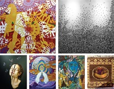 Young artists explore surrealism, spirituality