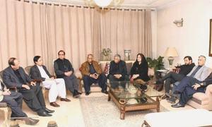 مسلم لیگ (ق) نے تحریک انصاف کی نئی ٹیم کے ساتھ مذاکرات سے انکار کردیا
