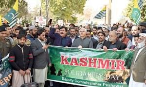 Rallies demand plebiscite in India-held Kashmir