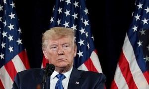 امریکی فوج افغانستان میں قانون نافذ کرنے والا ادارہ نہیں، امریکی صدر