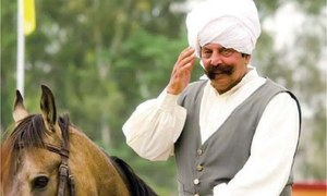 Legendary tent pegging champion Malik Ata passes away